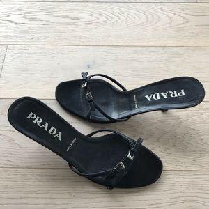 Prada sandals 38 $40 firm